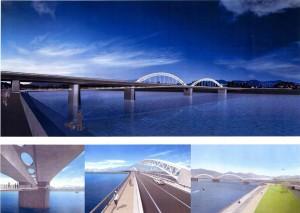 太田川橋りょう工事.2