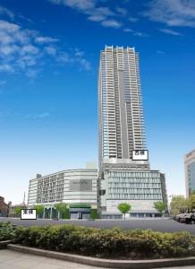 広島駅南口Bブロックでは52階のマンション等が計画されています。