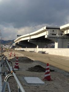 広島高速3号線(観音地区)