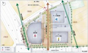 5街区の配置図