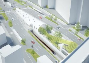新白島駅のイメージ
