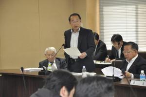 決算審査で若林新三議員は神楽の振興やコンビニを利用した市民サービスの向上などについて発言しました。