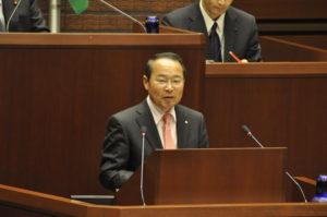 障害者差別解消条例の制定を求める若林新三議員