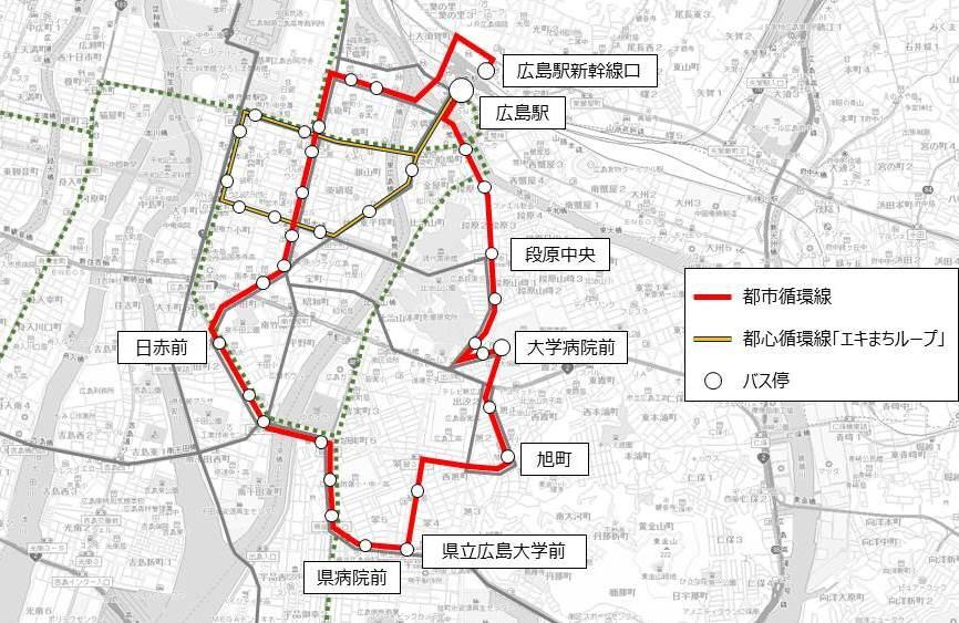 新たなバスの都市循環線を2020年1月以降運行 « 若林新三 WEBSITE